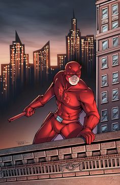 Daredevil colors by DAlexisStPierre on deviantART