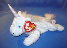 Conquering the world back in the 1990s, the Beanie Babies didn't have to try hard to captivate the hearts no... -  Mystic the Unicorn Baby2 . Discover More at: http://www.topteny.com/top-10-rarest-beanie-babies-world/