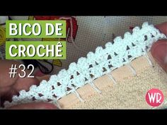 Bico de crochê fácil e completo para iniciante #32 - YouTube