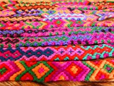 Handmade Mexican friendship bracelet / Traditional Mexican hand woven adjustable anklet or bracelet I Love Mexico, Nativity Crafts, Weaving Textiles, Main Colors, Anklet, Bracelet Set, Friendship Bracelets, Hand Weaving, Great Gifts