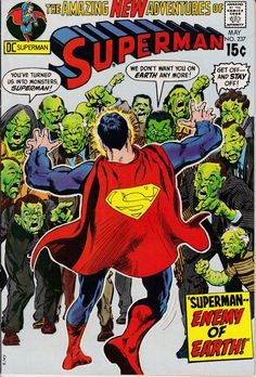 Superman 237  May 1971 Issue  DC Comics  Grade F/VF by ViewObscura