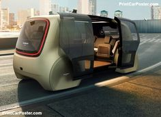 Tesla, general motors, volkswagen group, renault, bmw and a host of other tech and auto companies are racing to get self-driving vehicles on the road. Automobile, Vw Group, Volkswagen Group, Futuristic Cars, Self Driving, Transportation Design, Transportation Technology, Future Car, Future Tech