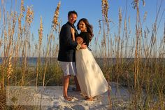 An engagement photo shoot on Orange Beach, Al