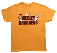 The Wesley Crushers Bowling Tee