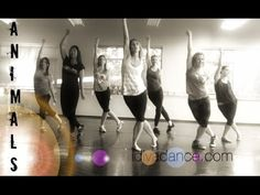 """""""Animals"""" By Maroon 5. DIVA DANCE FITNESS - YouTube"""