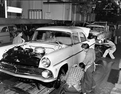 55 Ford assembly line