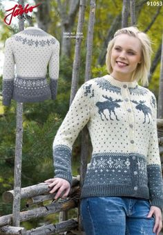 Sweater inspired by Swedish nature. Knitting Patterns, Crochet Patterns, Pullover, Knit Jacket, Winter Is Coming, Handicraft, Knit Crochet, Sweaters, Fair Isles