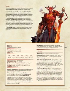 [5e][Monsters] Lynesth's Book of Wonderful Creatures - Imgur