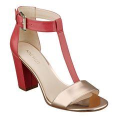 Brannah t-strap sandals.