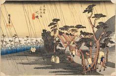 Hiroshige-les-53-relais-du-Tokaido-8e-Oiso