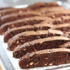 Biscotti - so impressive but easier to make than traditional cookies - there are tons of variations and you can bake to soft or crispy.  They look like you spent all day in the kitchen and t