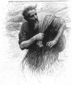 Eugène Burnand | The Tares Matthew 13:24-30