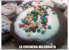 LA COCINERA MILEURISTA: Galletas de Chocolate y Anis Sin Mantequilla Facil