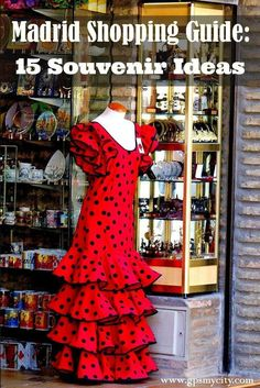 This Madrid shopping guide shows you what to look for if you want to pick up something memorable and authentically Spanish to bring home.