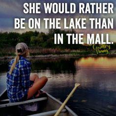 Hell Yes!!!! Screw shopping Take Me Fishing!!!!