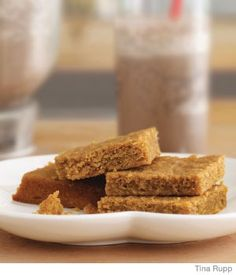 It's National Peanut Butter Day! Make peanut butter blondies to celebrate! - Parenting.com