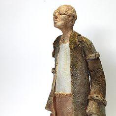 Stallker/Ceramic Sculpture/ Unique Ceramic Figurine by arekszwed