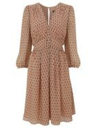 Grazia print dress