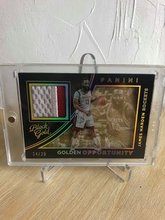 2015-16 Panini Golden Opportunity James Harden /25 [PC]   #jamesharden #houstonrockets #blackgold #goldenopportunity #panini #paniniamerica #whodoyoucollect #thehobby #nbacards #basketballcards #bballcards #sportscards #cardcollector #cardcollection #sportsmemorabilia #basketballkarten #sammelkarten #nbakarten #ballin #ballislife #breakstuffmarket Sports Sites, James Harden, Houston Rockets, Basketball Cards, Ice Hockey, Nfl Football, Trading Cards, Opportunity, Nba