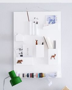 Here's a fantastic idea for a #DIY organizer . I love how #minimalist and clean it looks 💕 📷: DaWanda #instalike #love #cute