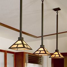 Mission Lantern One Light Chain Link Pendant Kitchen Lighting Layout Fixtures