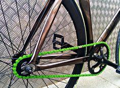 Rueda trasera Origin8 Negro Mate Freno contrapedal: http://www.fixicletas.com/comprar-ruedas-fixie-montadas/30155-rueda-trasera-origin8-freno-contrapedal.html