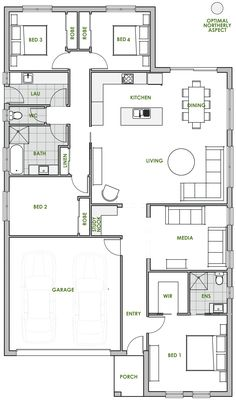 The Keppel offers the very best in energy efficient home design from Green Homes Australia. Take a look at the floor plan here.