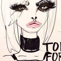 Blair Breitenstein #fashion #illustration #inspiration