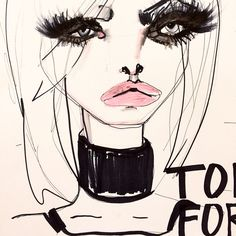 Blair Breitenstein #fashion #illustration #inspiration