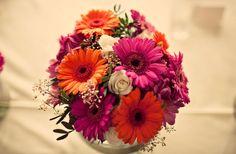 my wedding flowers, blogged at herlittleplace.com