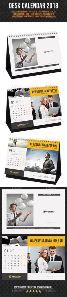 2015 Corporate Desk Calendar Template ( PSD ) Desk calendars - office calendar templates
