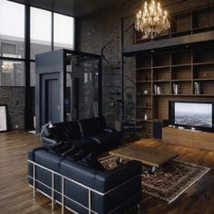 What I think my future husbands apt looks like on the upper west side of Manhattan;)