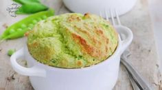 How to make peas and leak souffle