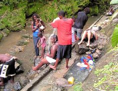 Rasta massage - Bath Fountain Spa, St. Thomas, Jamaica