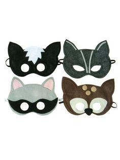 Animal masks.