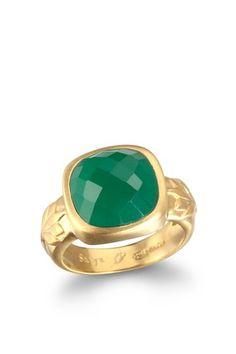 Lotus shoulder ring