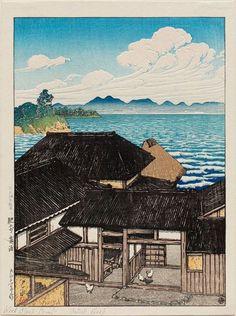 by Kawase Hasui, 1883–1957, Japan
