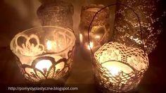 Koronkowe lampiony Pomysły plastyczne DiY - Joanna Wajdenfeld