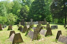 """Located in the Highland Rim and western Cumberland Plateau area of Tennessee is a folk culture type of grave covering called a tent or comb grave.""- www.TheGraveWalkers.com"