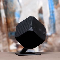 Cubik Speakers, $149 - looks kinda like the revolving cube at Astor Place, NYC (bk)