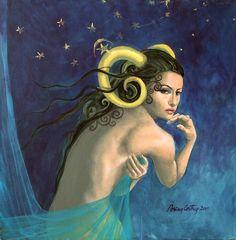'Aries' by Dorina Costras.