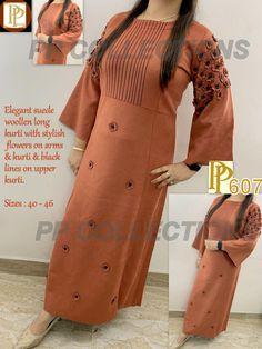 New Kurti, Latest Kurti, Stylish Kurtis Design, Palazzo With Kurti, Winter Outfits For Girls, Kurti Collection, Red Gowns, Casual Dress Outfits, Pakistani Outfits