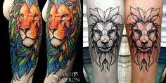 tatuagem de leão, desenho leão, tatuagem potilhada, tatuagem aquarela, alex cursino, inspirações, como fazer, grooming, blog de moda masculina, menswear, dicas de moda para homens (11)-horz