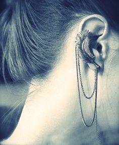 Ear leaf cuff