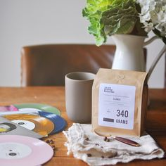 The only coffee subscription service that comes paired with vinyl. hint: it makes a great mother's day gift for cool moms.