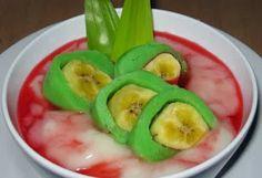 Iftar menu - Resep Es Pisang Ijo Untuk Buka Puasa - Indonesian food