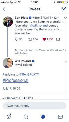 Great job Will #professional