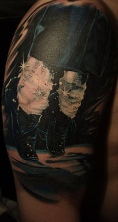This is awesome I would never get this as a tattoo but Man that is some good art work!