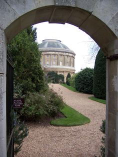 Through the archway to Ickworth, Suffolk, England