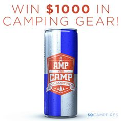 50 Campfires is giving away $1,000 worth of camping gear every week in their 5th annual Amp Your Camp giveaway! Enter for your chance to win!!
